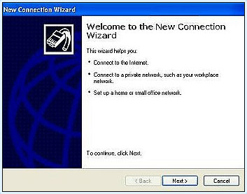 Windows XP VPN Setup
