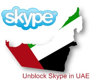 unblock skype in UAE