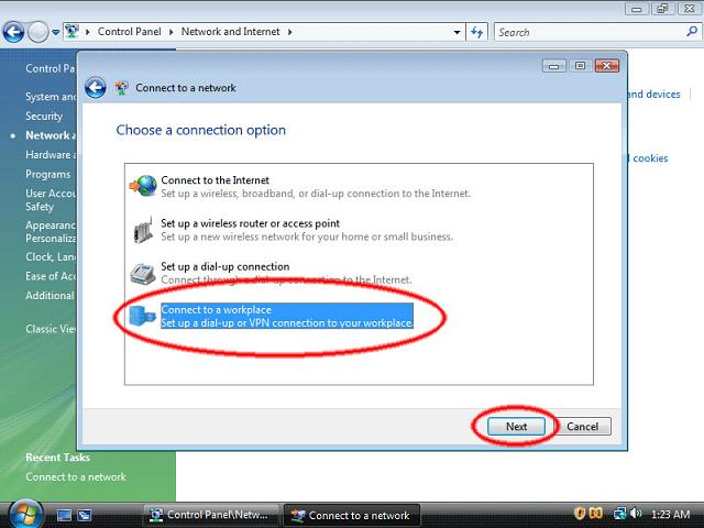 How to setup VPN in Windows Vista - 6